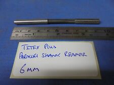 6mm Parallel Shank Reamer made by Titex Plus