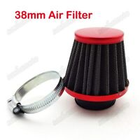 38mm Air Filter Cleaner For GY6 50cc QMB139 Motor ATV Quad Go Kart Moped Scooter