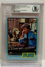 """JAMES BEST Signed Autograph Slabbed BAS BECKETT """"Roscoe with Flash"""" Dukes"""
