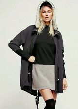 NEW Free People Polar Bear Parka In Charcoal Size Small