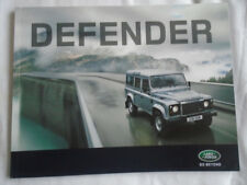 Land Rover Defender range brochure 2010 ref 3277/10