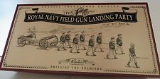 W. Britain's 8898 Royal Navy Field Gun Landing Party Ltd Editions Toy Soldiers