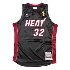 Miami Heat Shaquille O'Neal Mitchell & Ness Authentic HWC 2005-06 Jersey Large