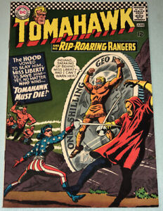 Tomahawk #110 Very Fine- 1967 DC Comic Book Silver Age Western Miss Liberty
