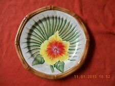 "Ambiance Royal Palm Nanette Vacher  SALAD PLATE 8-1/2"""