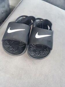 Kids Nike Sliders 9.5