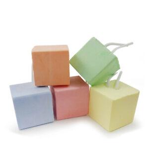5X Hamster Rabbit Teeth Chew Cube Rat Guinea-pig Calcium Mineral Stone Pet Toy