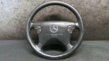 1Y191-011 Mercedes W210 E Klasse Airbaglenkrad Leder Lenkrad Schwarz A2104600203