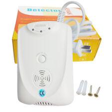 US Carbon Monoxide Alarm Detector Independent AC110-240V 9V Battery HM-712CS-AB
