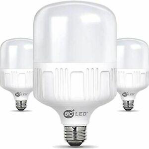 Bioled 20W, E26, 3 Pack, Daylight(5000K), 200 Watt Equivalent, LED Light Bulbs,