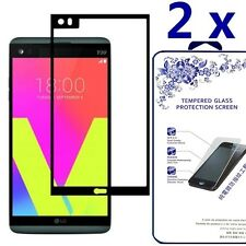 [2x] Full Cover  HD Tempered Glass Screen Protector For LG V20