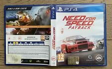 NEED FOR SPEED PAYBACK PS4 PAL ITA VERSIONE ITALIANA COME NUOVO