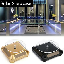 Solar Showcase  360° Turntable Rotating Jewelry Watch Display Stand Mount Holder