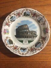 German Bavaria Winterling Schwerzenbach Souvenir Plate, Rome Colosseum, Roma