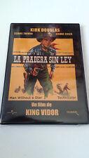 """DVD """"LA PRADERA SIN LEY"""" PRECINTADA KING VIDOR KIRK DOUGLAS CLAIRE TREVOR"""