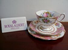 Royal Albert  'LADY CARLYLE' 1944+ VERSION ~  MALVERN SHAPE~ TRIO ~ NICE