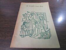 ST. JOSEPH'S COOK BOOK - SISTERS OF ST. JOSEPH OF NEWARK, JERSEY CITY N.J.
