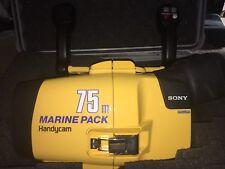Sony Handycam Marine Pack Camera Underwater Housing 75m mpk-dvf6 Pelican Case