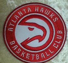 "Atlanta Hawks NBA 3.5"" Iron On Embroidered Patch~USA~FREE Ship"