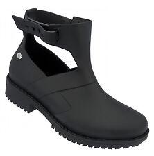 Ladies' Cut Ankle Boot Mel By Melissa Open Boot Black UK Size 6 (EU Size 39)