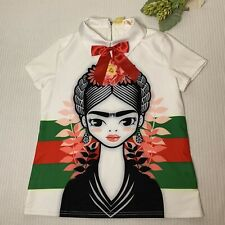 Women's Frida Kahlo Shirt Blouse Large
