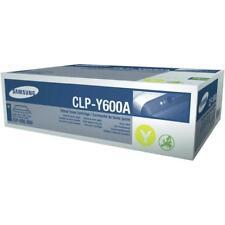 ORIGINAL SAMSUNG Cartouche d'encre CLP-Y600A JAUNE CLP-600 CLP-650 B NOUVEAU