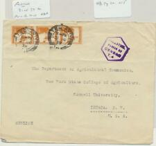 PALESTINE -USA 1939 CENSOR (T.4) COVER, 3x5m RATE (SEE BELOW)