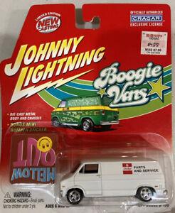 Johnny Lightning Boogie Vans 1977 Dodge D-150 Parts & Service Van Mellow Out New