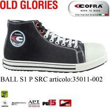 Scarpa antinfortunistica Cofra BALL S1 P SRC tela cotone traspirante