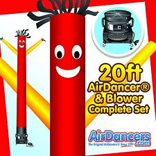 Red & Yellow AirDancer® & Blower 20ft Complete AirDancer Set