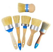 Chalk furniture paint brush kit Ultimate Boar Bristle Brush pro kit. 6 brushes