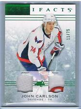 2014-15 JOHN CARLSON UD ARTIFACTS DUAL JERSEY/PATCH #61 CAPITALS #11/75
