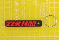 Kawasaki ZZR 1400 plastic keyring Keychain Porte Cles keyholder motorcycle