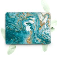 Gold Illusion Marble Hard Plastic Case Cover Macbook Pro Retina Air 11 12 13 15