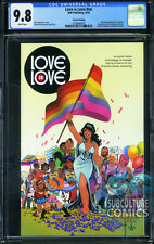 LOVE IS LOVE #1 - CGC 9.8 - 1ST APPEARANCE OF HARRY POTTER - SOLD OUT