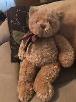 """Teddy Bear Plush Gund 17""""  Stuffed Animal  Toy  EUC"""