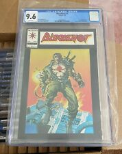Bloodshot #1 CGC 9.6 Chromium Cover Valiant Comics ~ 1993 White Pages 🔥