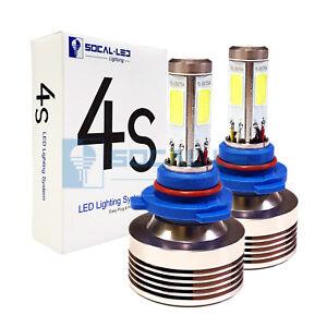 SOCAL-LED 2x 4S HB3 9005 Headlight Bulb 80W LED Conversion Kit 6000K Xenon White