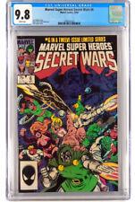 Marvel Super Heroes Secret Wars 6 - CGC  9.8 - 1 Set Comic Lot
