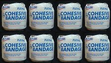 "8 First Aid Only 2"" x 5 yd Cohesive Bandages Flexible Beige Color # J611-LF"