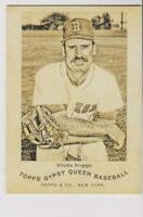 2014 Topps Gypsy Queen N174 Wade Boggs card, Boston Red Sox HOF