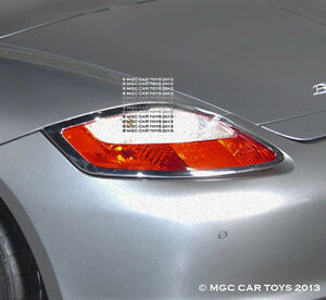 Porsche Boxster & Boxster S Taillight Chrome Trim Upgrd 2005-2008 (One Pair)