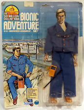 THE SIX MILLION DOLLAR MAN : CARDED O.S.I UNDERCOVER ASSIGNMENT SET (TK)