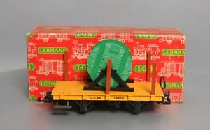 LGB 4002 Kabel Union Flatcar with Cable Reels/Box