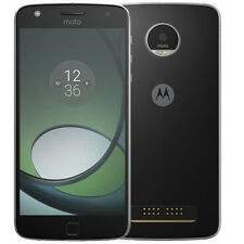 Unlocked MOTO Z PLAY XT 1635-02 Black(LCD BURNT) With 3 Month's Warranty