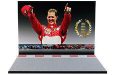 Diorama Michael Schumacher - 1/43ème - #43-2-B-B-053