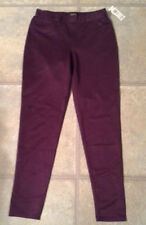 (NWT) Attention Junior's Size Small Burgundy Scuba Jeggings Retails @$24.99