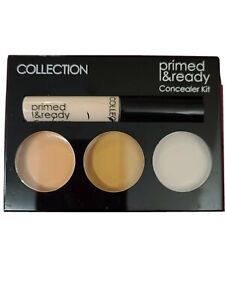 COLLECTION Primed & Ready |  Concealer Kit Palette | Ultimate Coverage |