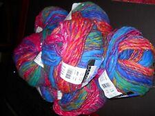 Discontinued Berroco Brio Lot of 7 Bright Multicolor # 9447