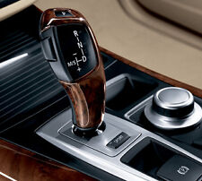 Auto Trans Shift Lever Knob-Wood Selector BMW OEM 61310417307